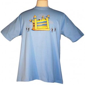 Check Out This Funny Inflatable Castle War Shirt