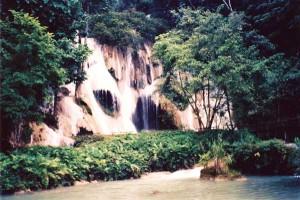 Luang Prabang Lao Waterfalls