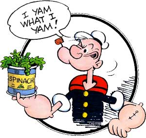 Popeye, He Is What He Is
