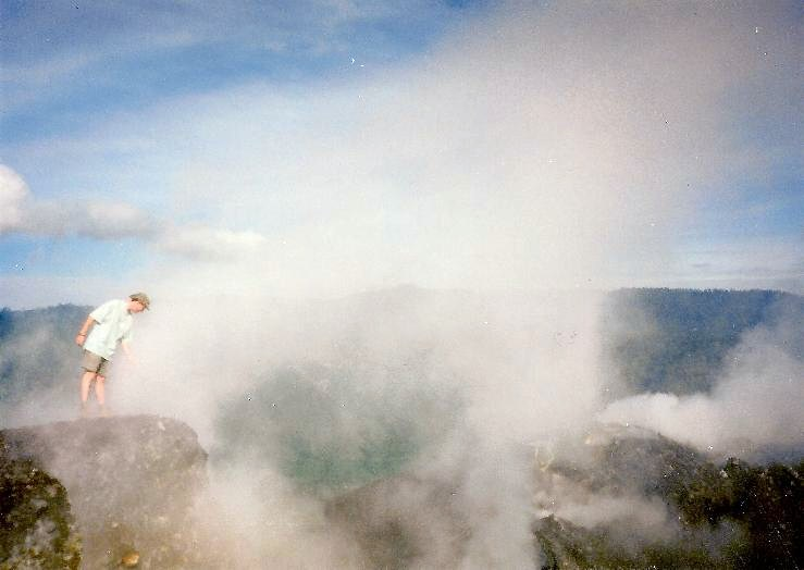 Scott Vs The Volcano - Seconds Before An Eruption