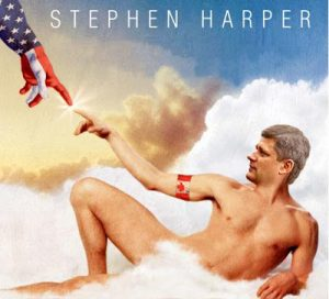 Stephen Harper Touched By God