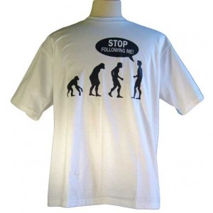 Funny Stop Following Me Shirt