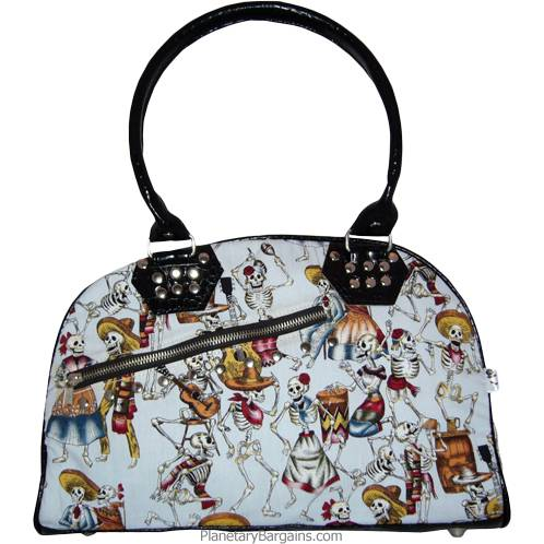 Eternal Fiesta Canvas Shoulder Bag