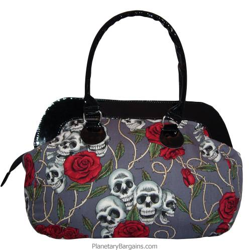 Eternal Fiesta Large Canvas Hand Bag