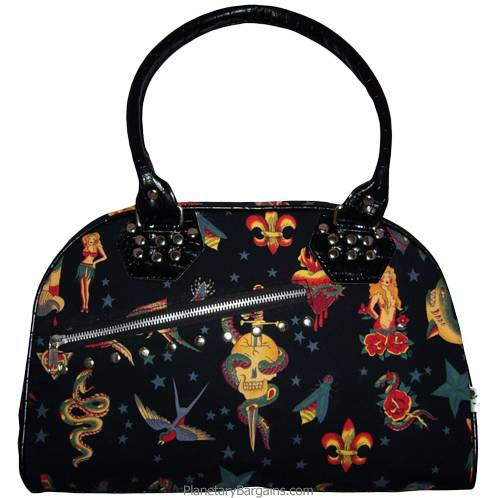 Zodiac Fortune Canvas Shoulder Bag