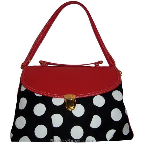 Pastel Polka Dot Shoulder Bag