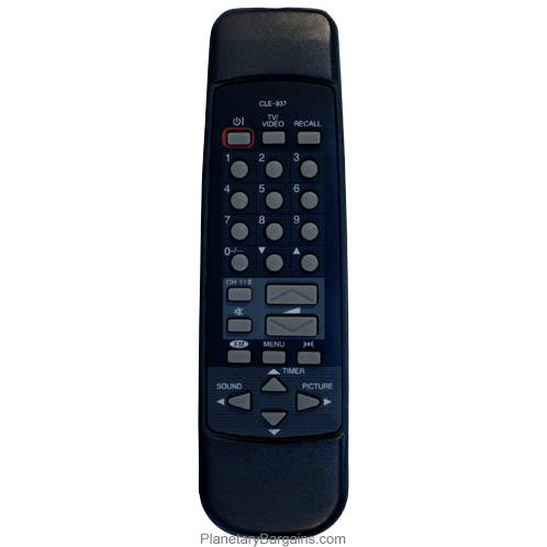 CLE-937 Remote for Hitachi Televisions C14PEV2