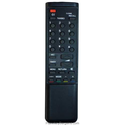 CLE-898 Remote for Hitachi Televisions C14-P102
