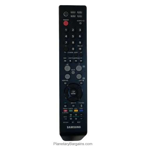 samsung one remote control manual
