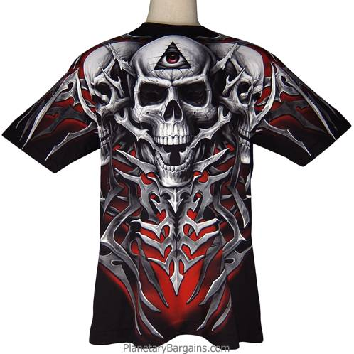 All Seeing Skulls Shirt