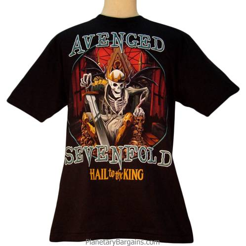Avenged Sevenfold Hail To The King Shirt