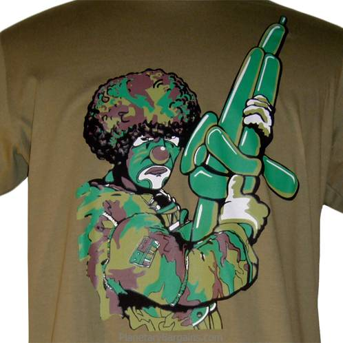 Rifle Ballon Gun Clown Shirt