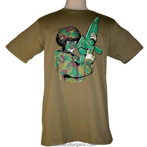 Army Clown Shirt