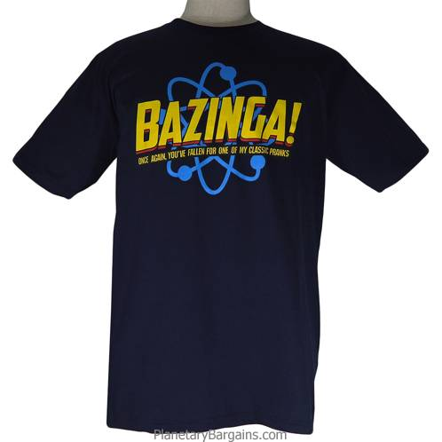 Bazinga Classic Pranks Shirt