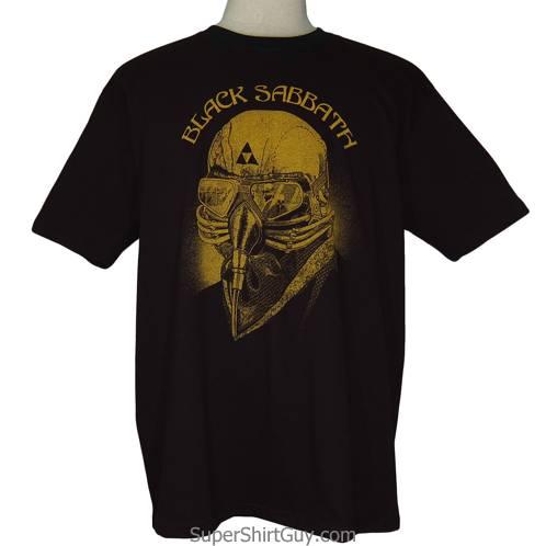 Black Sabbath Bison Skull Shirt