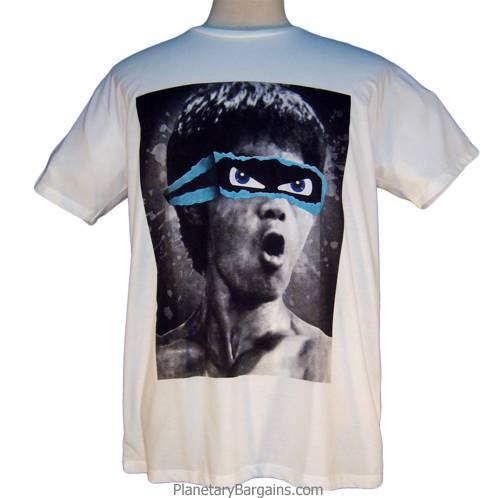 Bruce Lee Ninja Turtle Eye Shirt