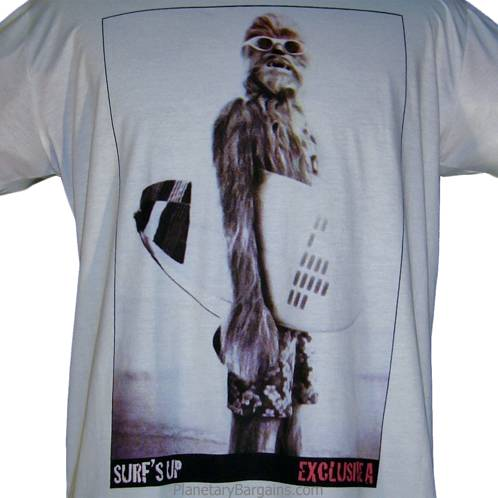 Chewbacca Surfing With Sunglasses