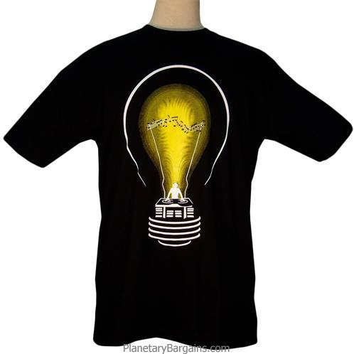 DJ Lightbulb Shirt