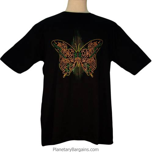 Digital Butterfly Shirt