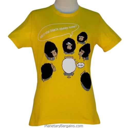 Ladies Who's The Black Sheep Now Shirt