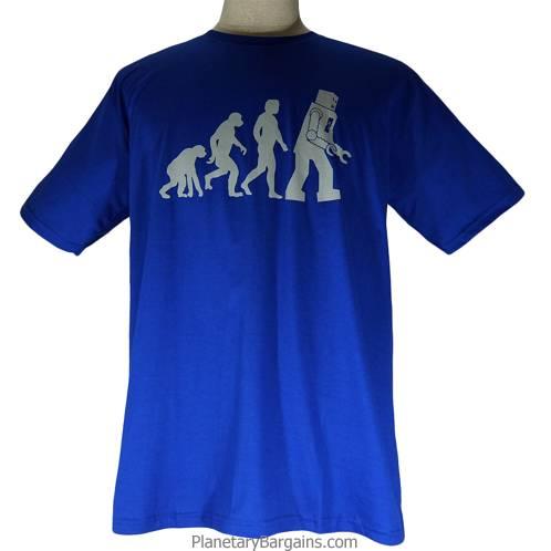Evolution Man To Robot Shirt