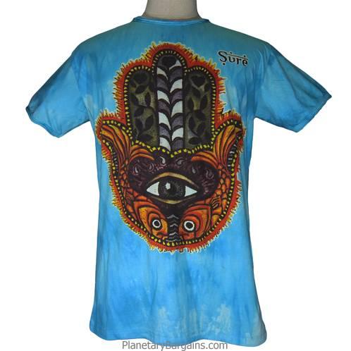 Eye Fish Hand Shirt