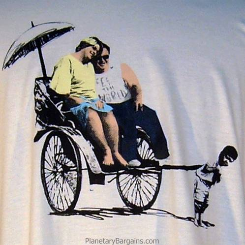 Banksy Feed The World Shirt