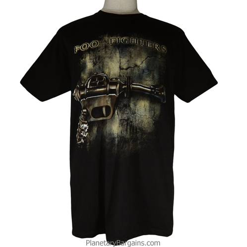 Foo Fighters Band Atomic Disintegrator Shirt