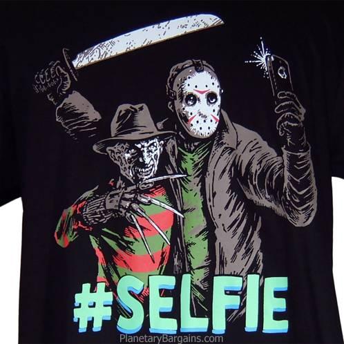 Jason Freddy Selfie Shirt