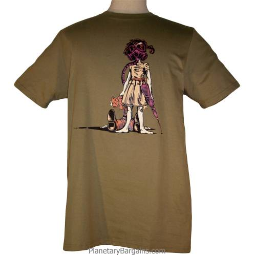 Gas Mask Girl With Teddy Bear And Gun Shirt