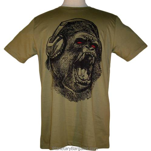 Gorilla In Headphones Shirt