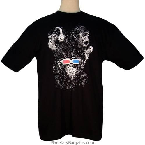 Hear See Speak More Evil Shirt