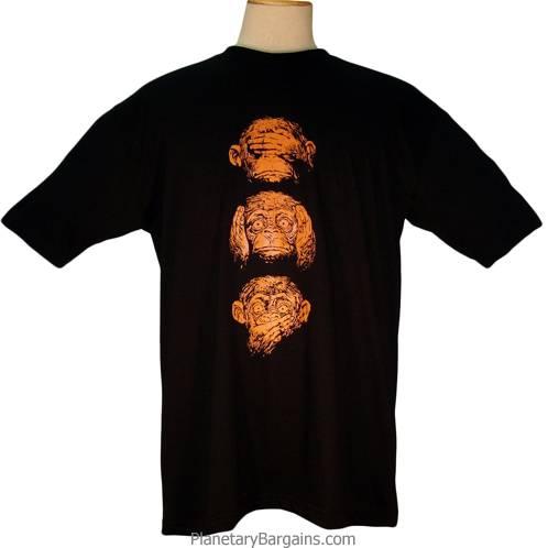 Hear See Speak No Evil Shirt