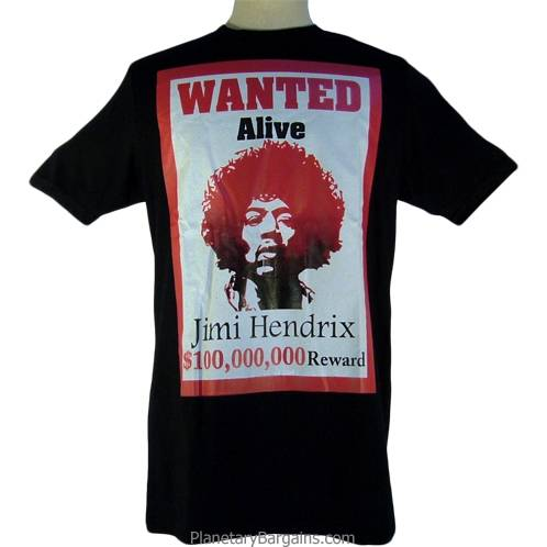 Hendrix Wanted Shirt