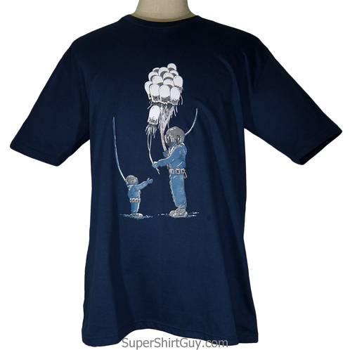 Jellyfish Balloon Man Shirt