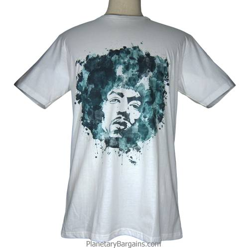 Jimi Hendrix Water Paint Shirt