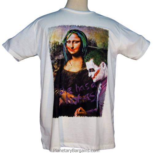 Joker Mona Lisa Shirt