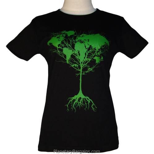 Ladies Earth Tree Shirt