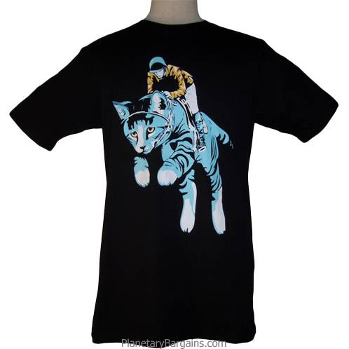 Funny Kitty Jockey Shirt