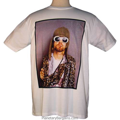 Kurt Cobain In Sunglasses Shirt