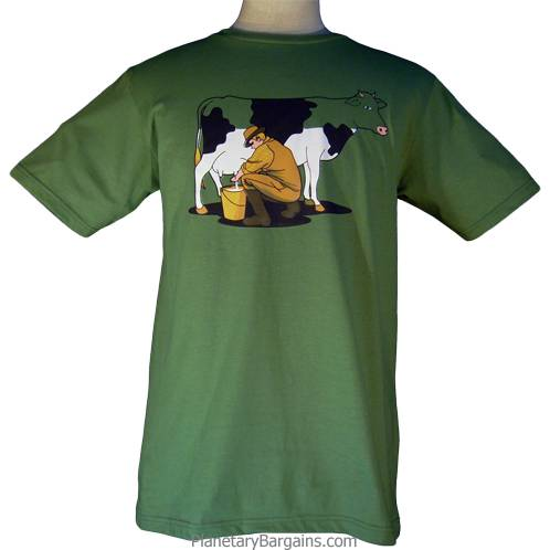 Milking The Cow Dry Shirt