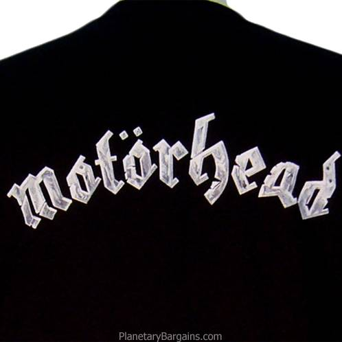Motorhead Kiss Of Death Shirt Black - Motorhead Snaggletooth