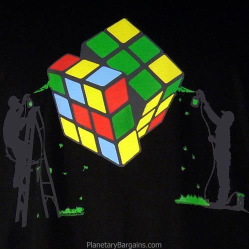 Painting A Rubik's Cube Shirt