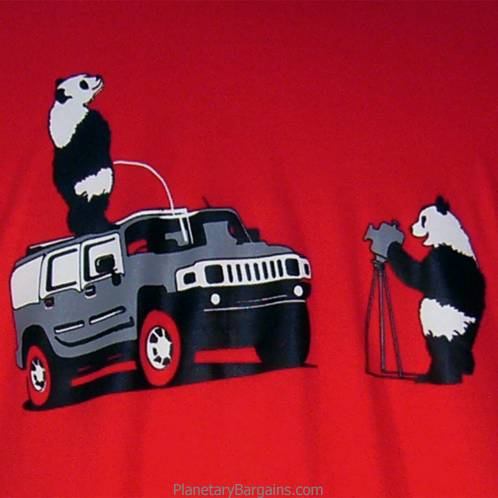 Pandas On SUV Shirt