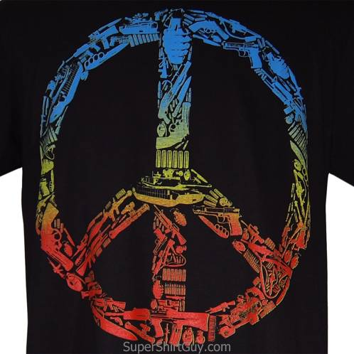 Weapon Peace Shirt