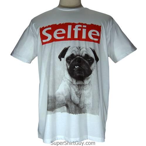 Pug Selfie Shirt