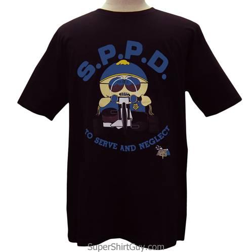 Eric Cartman Cop Respect My Authoritah T-Shirt