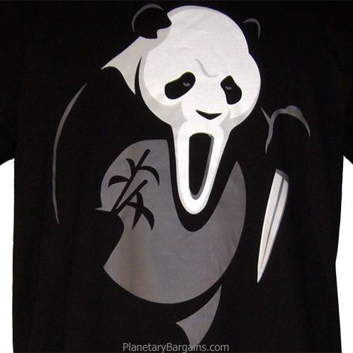 Scream Panda T-Shirt