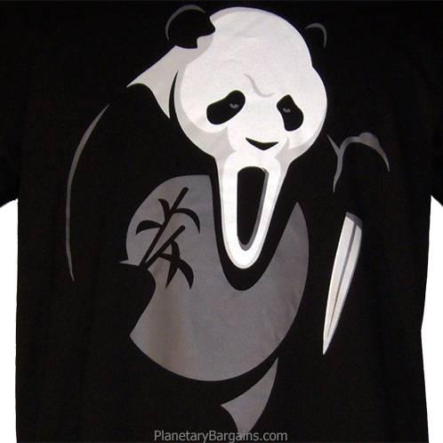 Scream Panda T-Shirt