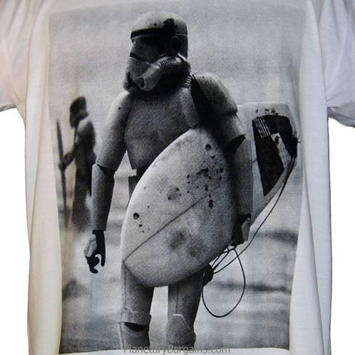 Surfer Storm Trooper Star Wars Shirt